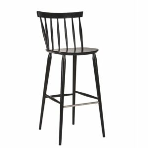 Antilla Spindle Bar Stool - Wenge