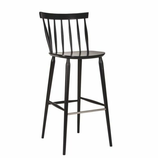 Antilla Spindle Bar Stool – Wenge
