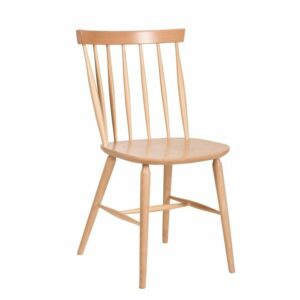 Antilla Wooden Spindle Chair - Natural