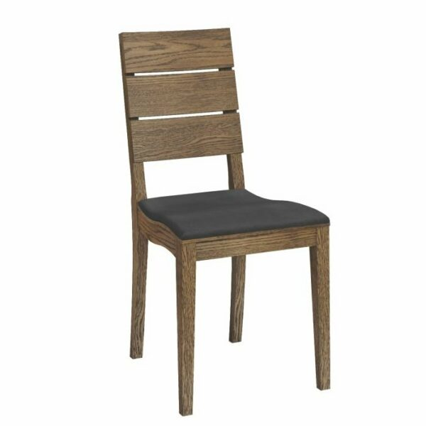 Bernina Wooden Dining Chair – Caramel Oak
