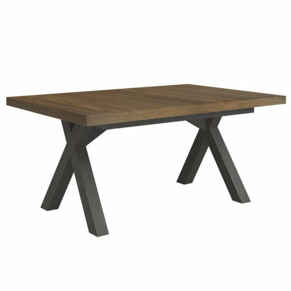 Bernina Wooden Extendable Dining Table - Caramel Oak