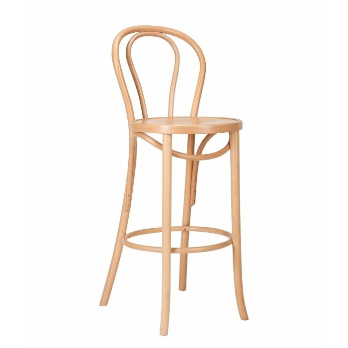 Classic Bentwood Loop Stool - Natural
