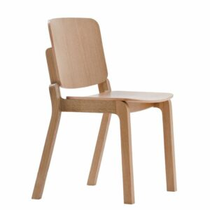 Krezta Wooden Chair - Natural