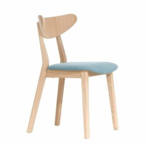 Kosiński Upholstered Wooden Chair - Natural
