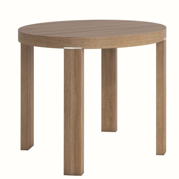 Orbi Round Dining Table 4 Seater – Natural