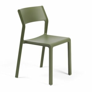 NARDI Trill Bistro Chair - Olive Green