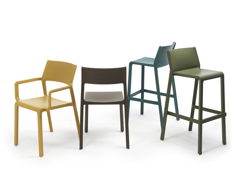 Trill Family Collection – Chair, Armchair and Bar Stools (Assorted Colours)