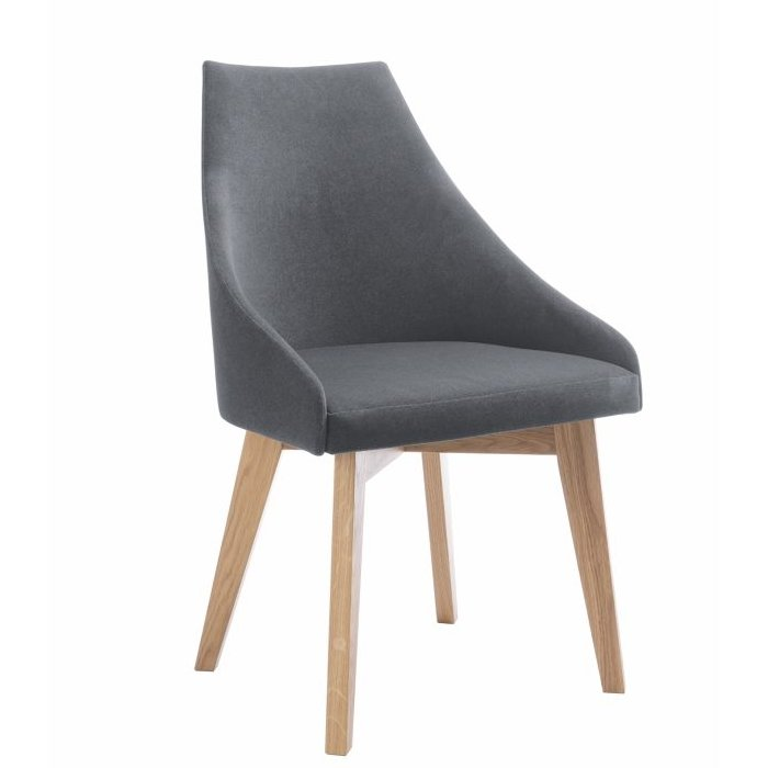Warsaw Upholstered Dining Chair – Natural