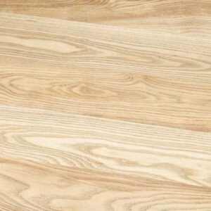 Solid Ash Table Top Ø650 - Natural Stain