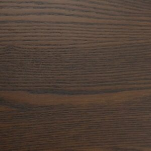 Solid Ash Table Top Ø650 - Walnut Stain