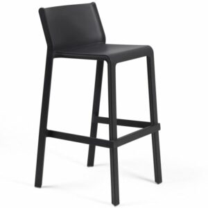 NARDI Trill Tall Bar Stool - Charcoal