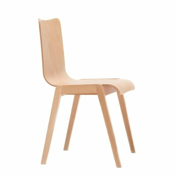 Báthory Wooden Chair - Natural