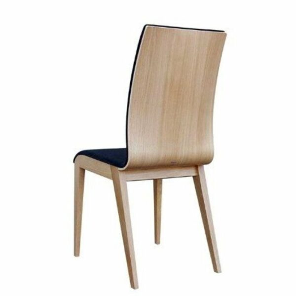 Quadro Cushioned Chair - Natural (View of Chair Back)