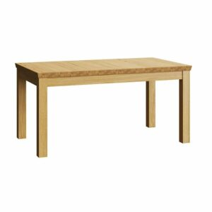 Henryk Wooden Extendable Dining Table - Natural