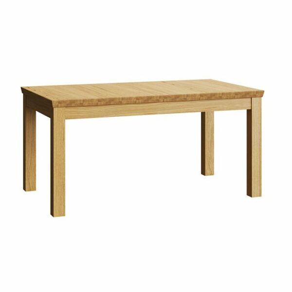 Henryk Wooden Extendable Dining Table – Natural