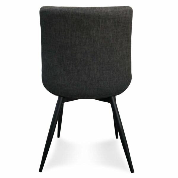 Palermo Dining Chair - Grey (Back View)