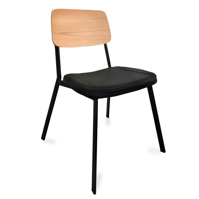 Berlin Chair - Black & Natural