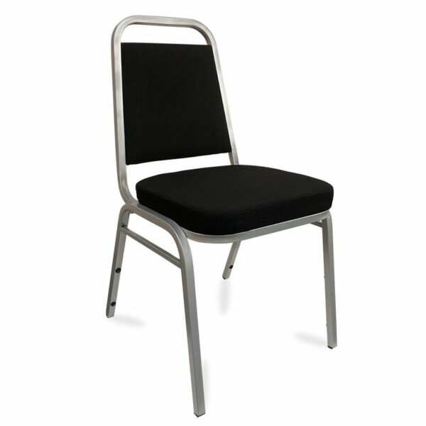 Event Chair - Black & Silver