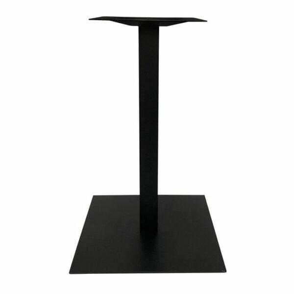 Square Plate Table Base 450 - Black