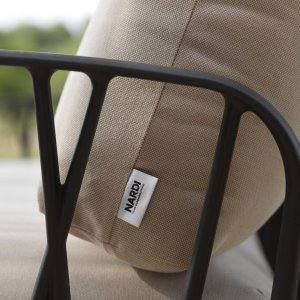 Nardi Outdoor Furniture - Close up on Komodo Frame & Cushion