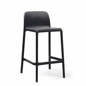 NARDI Faro Breakfast Bar Stool - Charcoal