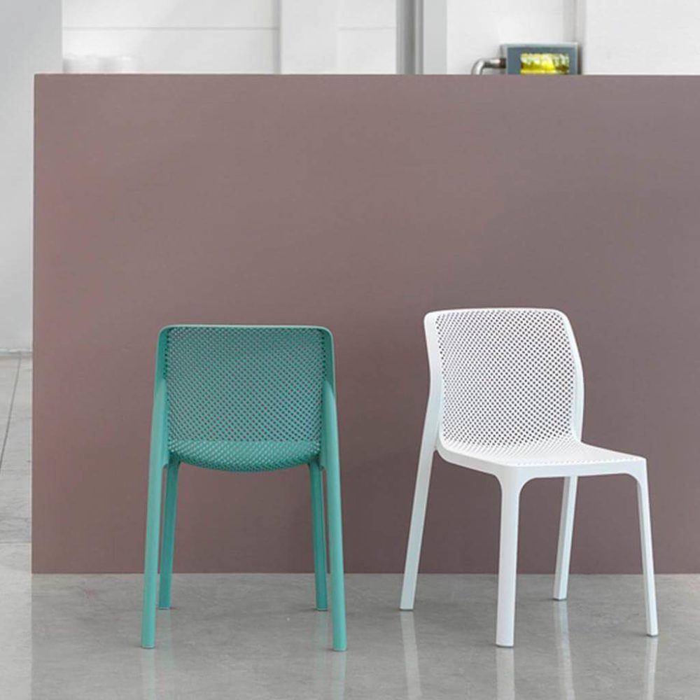 Bit Chairs – Spearmint & White Bit Chairs