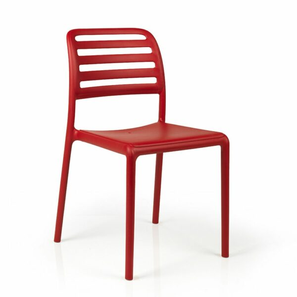 NARDI Costa Bistro Chair - Red