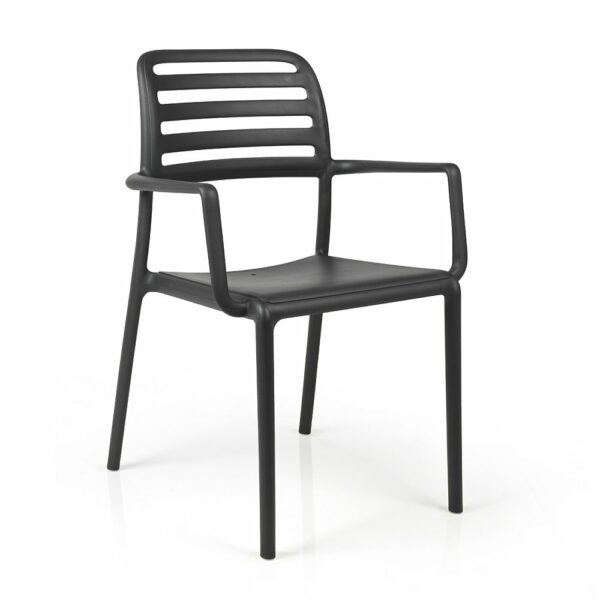 NARDI Costa Outdoor Arm Chair - Charcoal