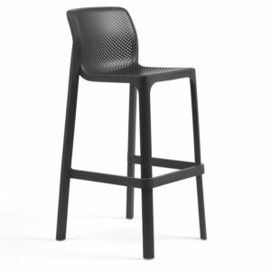 NARDI Net Tall Bar Stool - Charcoal