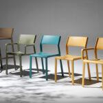 Trill Range – Armchairs, Bistro Chairs, Bar Stools (Showroom Photo)