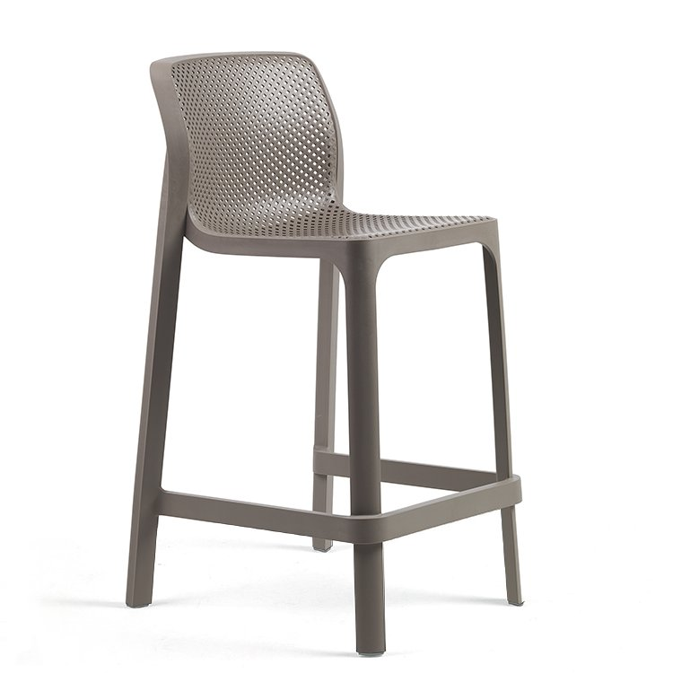 Net Kitchen Counter Bar Stool – Taupe