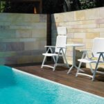 Aquamarina Reclining 3-Piece Set – Pictured Poolside