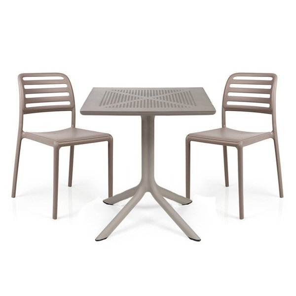 Costa Clip 3 Piece Balcony Set – Taupe