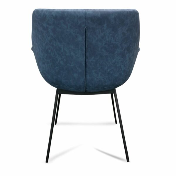 Mendoza Dining Chair - Blue (Back of Chair)
