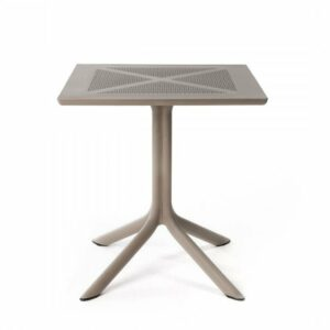 Outdoor Table - Clip-X 70 in Taupe