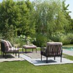 Komodo 7-Piece Outdoor Lounge Set in Garden