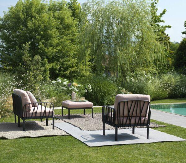 Outdoor Lounge Set - Komodo 7-Piece in Garden