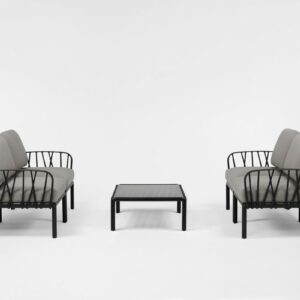 Outdoor Lounge Furniture - Komodo Twin Sofa Set