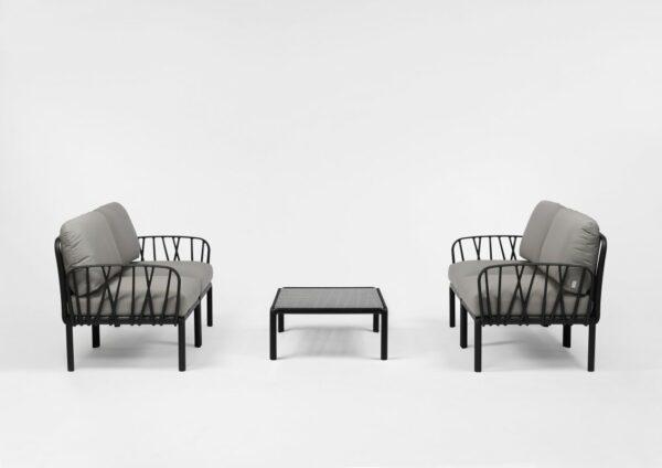 Outdoor Lounge Furniture - Komodo Twin Sofa Set