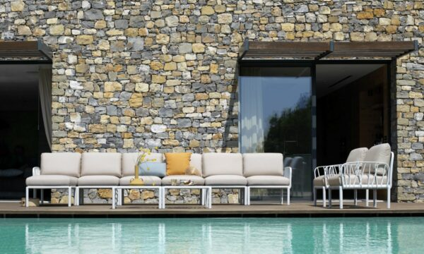 Outdoor Lounge Furniture - Komodo 11-Piece by Pool