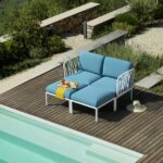 Komodo Outdoor Daybed by Pool