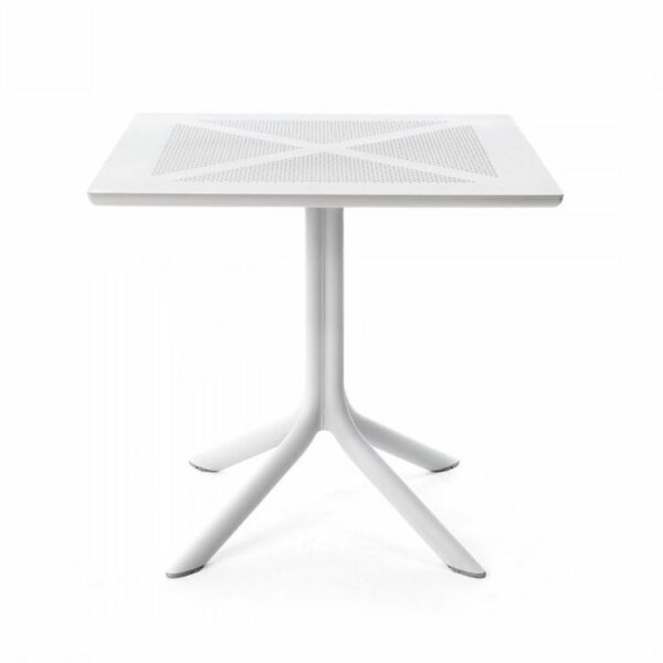 Outdoor Patio Table - Clip-X 80 (White)