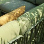 Komodo 8-Piece Outdoor Lounge Set – Olive Green