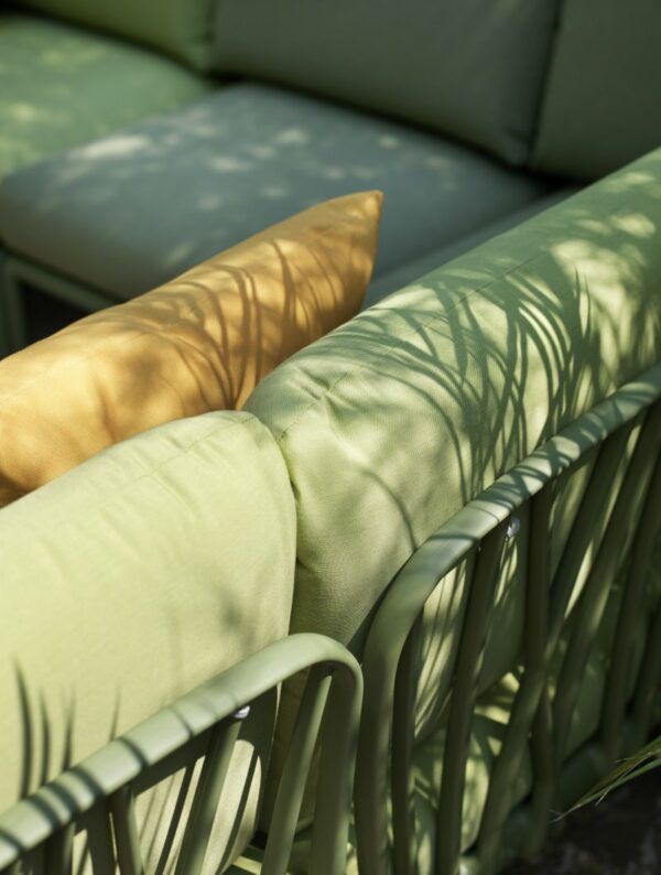Outdoor Sofa Couch - Komodo 8-Piece in Olive Green