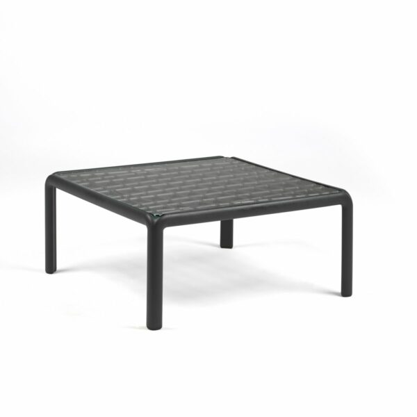 Outdoor Coffee Table - Komodo Glass in Charcoal