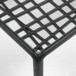 Komodo Glass Outdoor Coffee Table – Close up on Top