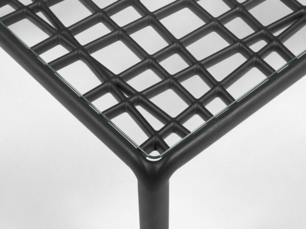 Outdoor Coffee Table - Komodo Glass Top View