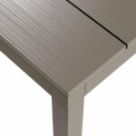 Rio Alu 210-280 Table Top Texture Taupe Colour