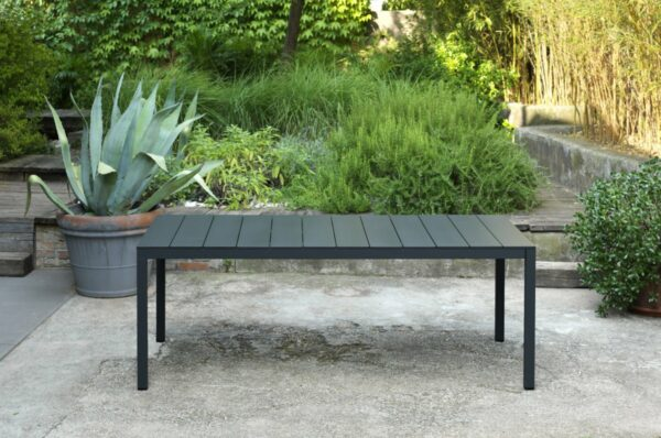 Outdoor Dining Table - Rio Alu 210-280 in Native Length 2100mm