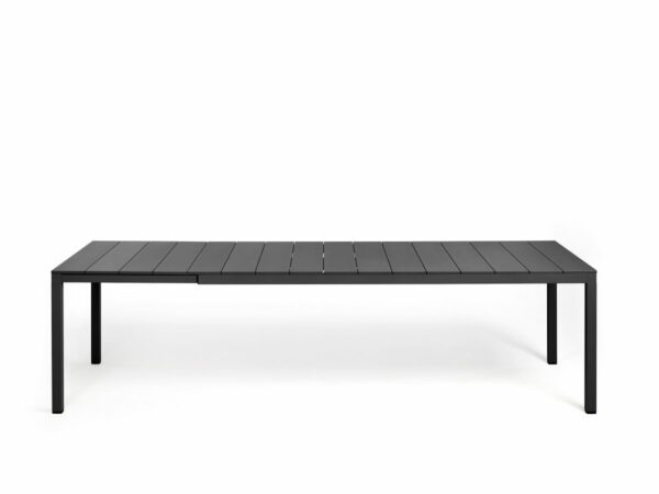 Outdoor Dining Table - Rio Alu 210-280 Extendable in Charcoal